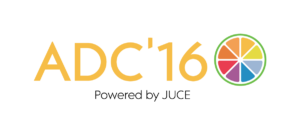 ADC'16: Powered by JUCE
