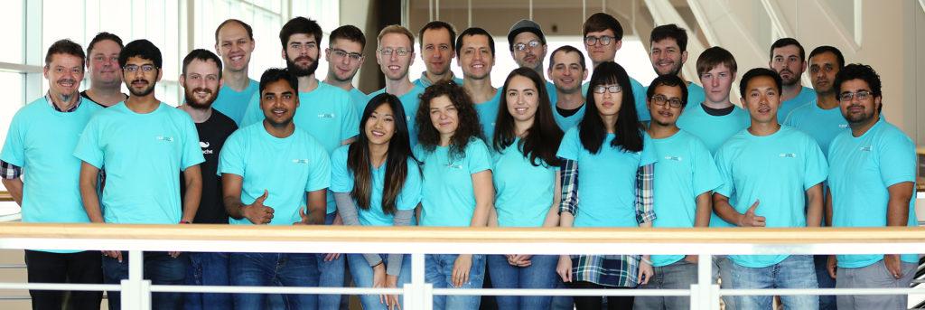CppCon Volunteers: The Aqua Army