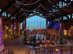 Gaylord Rockies Atrium with window